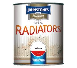 Johnstone's Speciality Paint for Radiators 750ml - White Satin