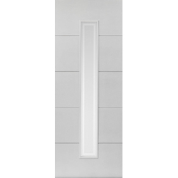 Dominion White Glazed Door
