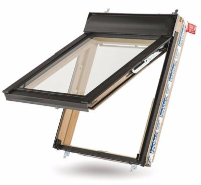 Keylite Top Hung/Fire Escape Roof Window with Hi-Therm Glazing - White Finish