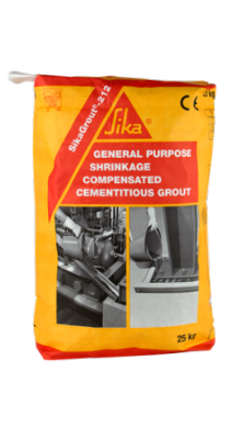 SikaGrout 212 General Purpose Shrinkage Compensated Cementitious Grout 25kg