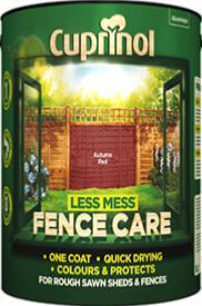 Cuprinol Less Mess Fence Care 6 ltr