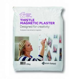 Magnetic Plaster 25kg bag