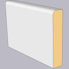 Primed MDF Pencil Round Architrave 69 x 14.5mm