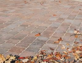 Castacrete Rumbled Paving 50mm - 10.45m2 Mixed Size Pack