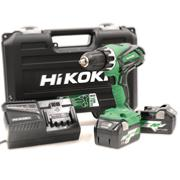 Hikoki DV18DGLJRZ 18v Combi Drill with 2 Multi Volt Batteries