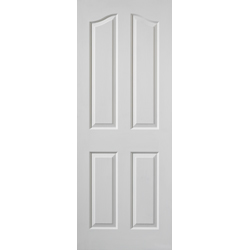 Edwardian White Door