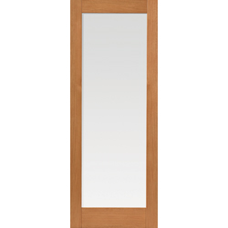 Fuji Oak Glazed Door