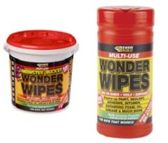 Everbuild wonder wipes trade tub & monster bucket
