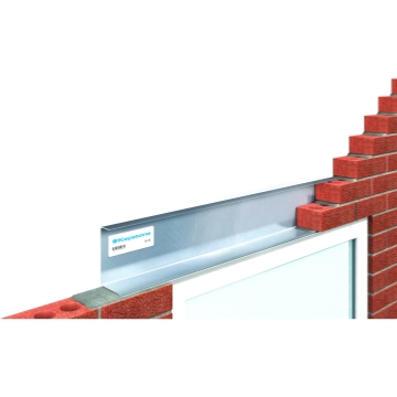 Keystone Solid Wall Single Leaf Steel Lintels