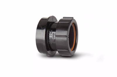 Polypipe 110mm Soil Pipe Straight Boss Adaptor Solvent X Compression for 40mm Waste Pipe SN64
