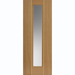 Juno Oak Glazed Door