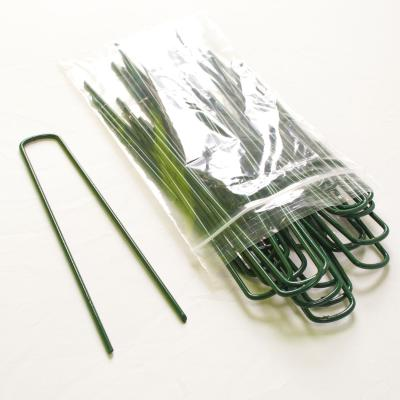 150mm Green U Pin for Artificial Grass (sold per each)