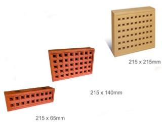 Square Holed Air Bricks