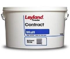 Leyland trade contract matt brilliant white/magnolia