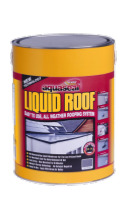 Everbuild Aquaseal Liquid Roof 7kg - Slate Grey