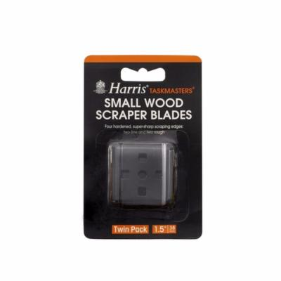 "Harris Taskmasters 1.5"" Small Wood Scraper Blades - Twin Pack"