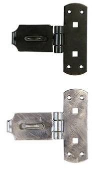 Taurus Heavy Vertical Pattern Bolt On Hasp and Staple (150mm)
